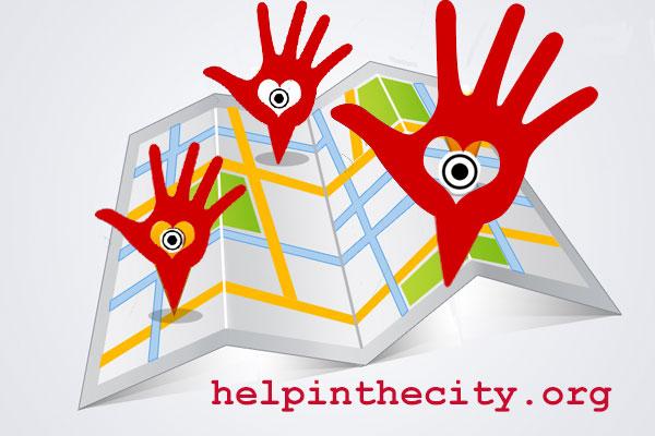 helpinthecity.org per trovare dove fare volontariato