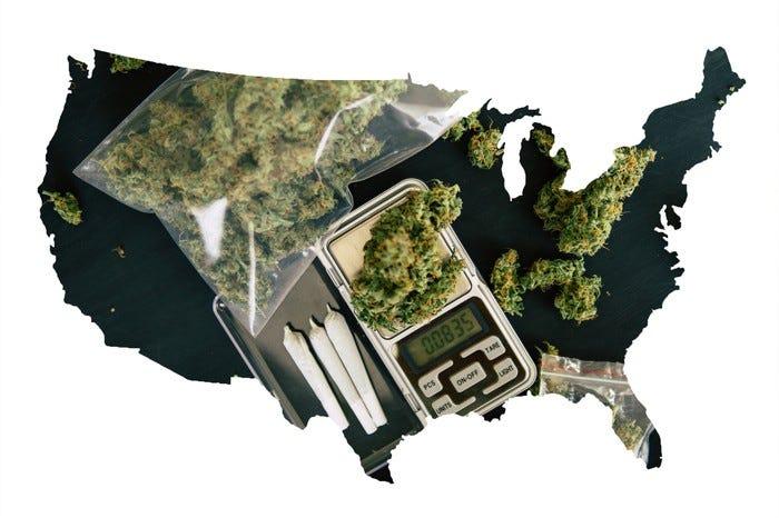 La marijuana ricreativa è legale nel Michigan e presto sarà legale nell'Illinois
