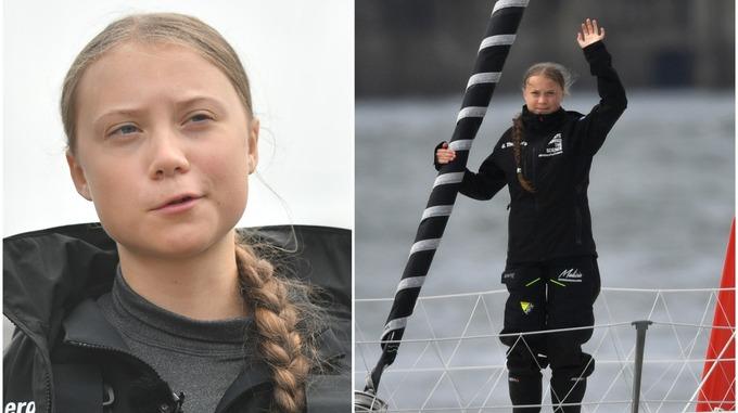 Greta Thunberg a Bristol